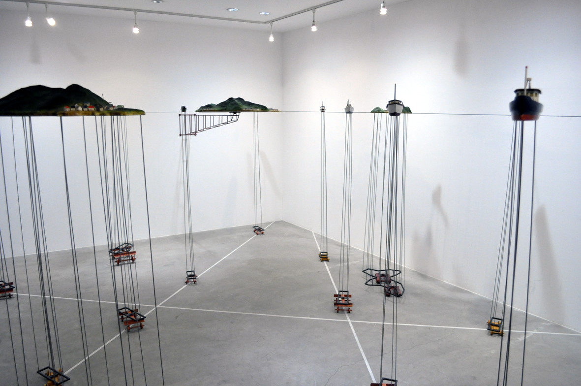 Air Diver (Installation view)