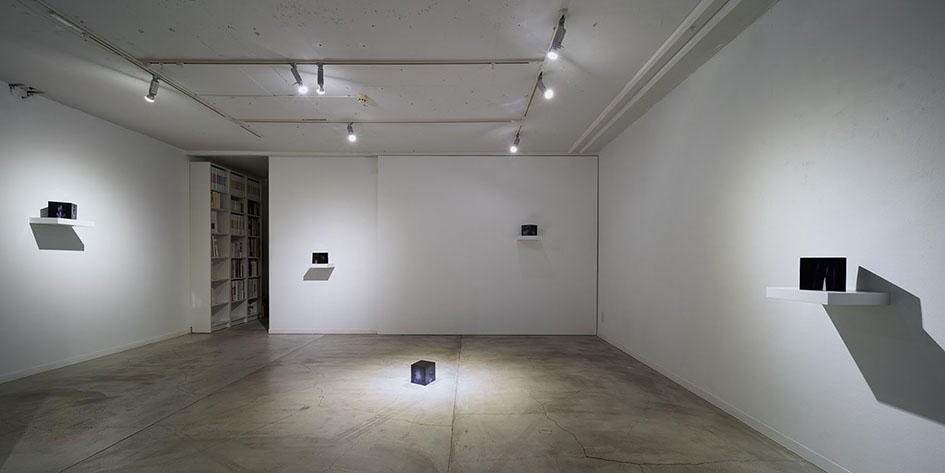 The installation view of solo show : Harden the Night