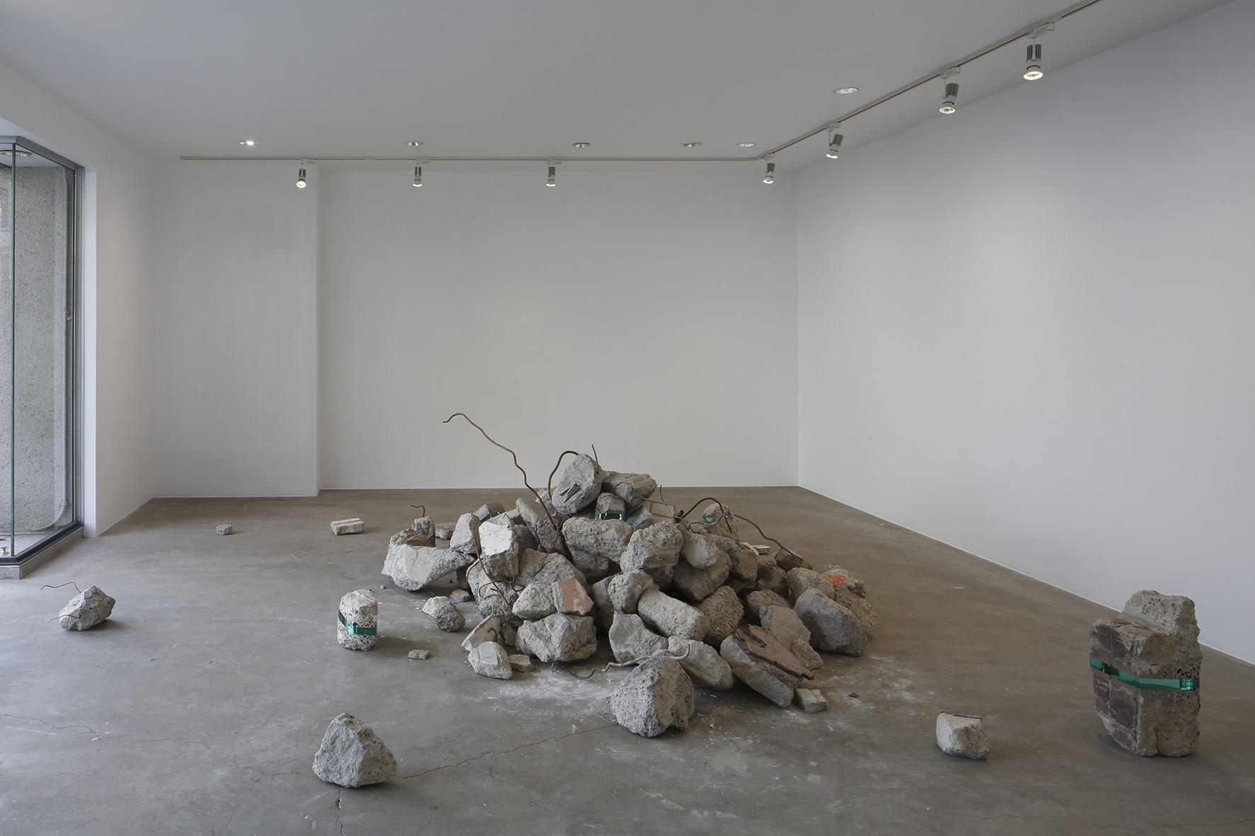 Debris 2016 Installation view