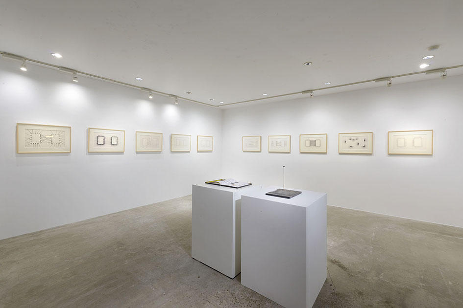 The installation view of solo show : Relation- Yusuke Nakahara, or Critique as Creation