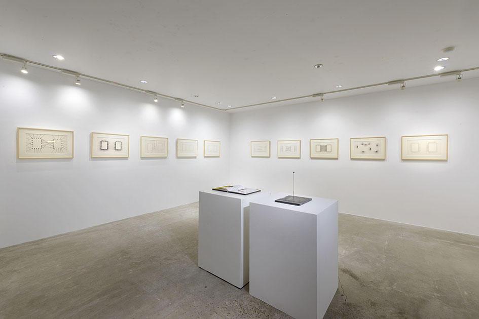 「関係―中原佑介、あるいは創造としての批評」展示風景