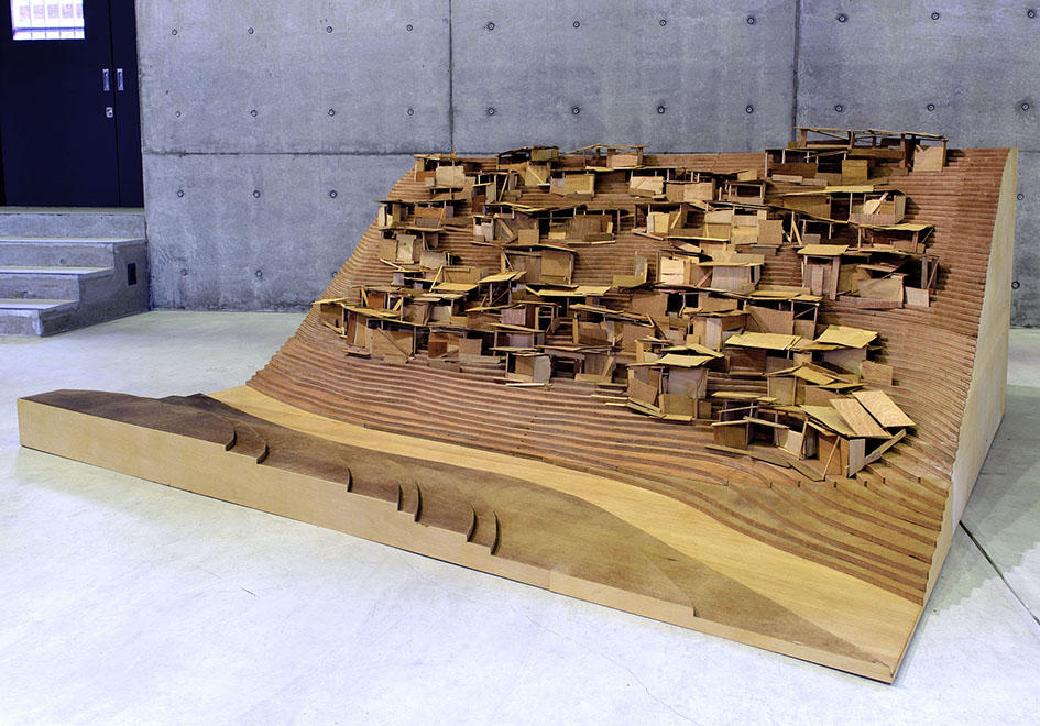 Favelas in Houston, maquette 94