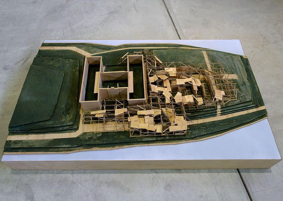 Project on Roosevelt Island,  maquette S