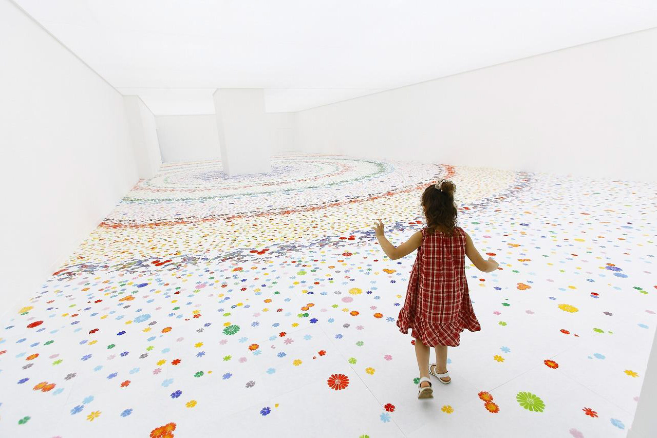 Echoes Infinity ( Garden For Children, Museum of Contemporary Art Tokyo)