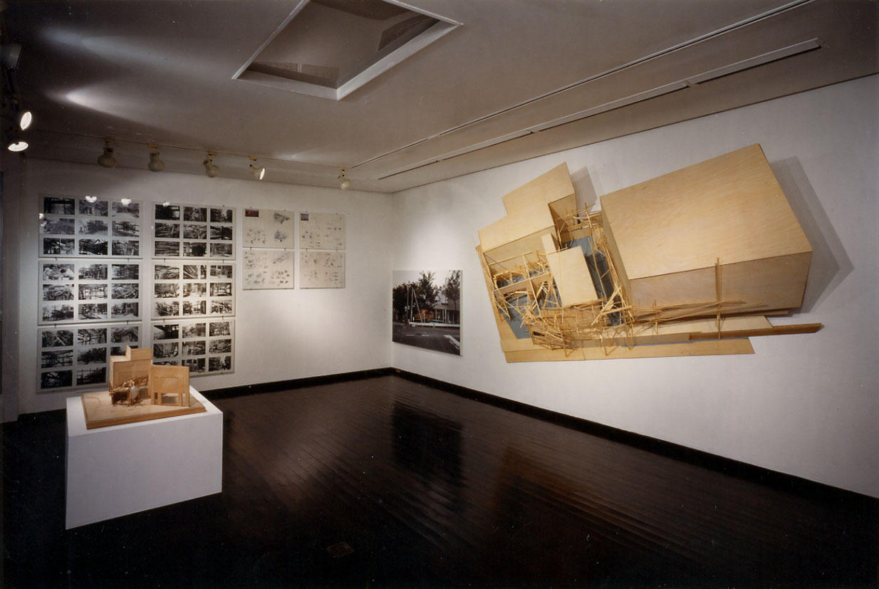 Under construction Installation view 1984