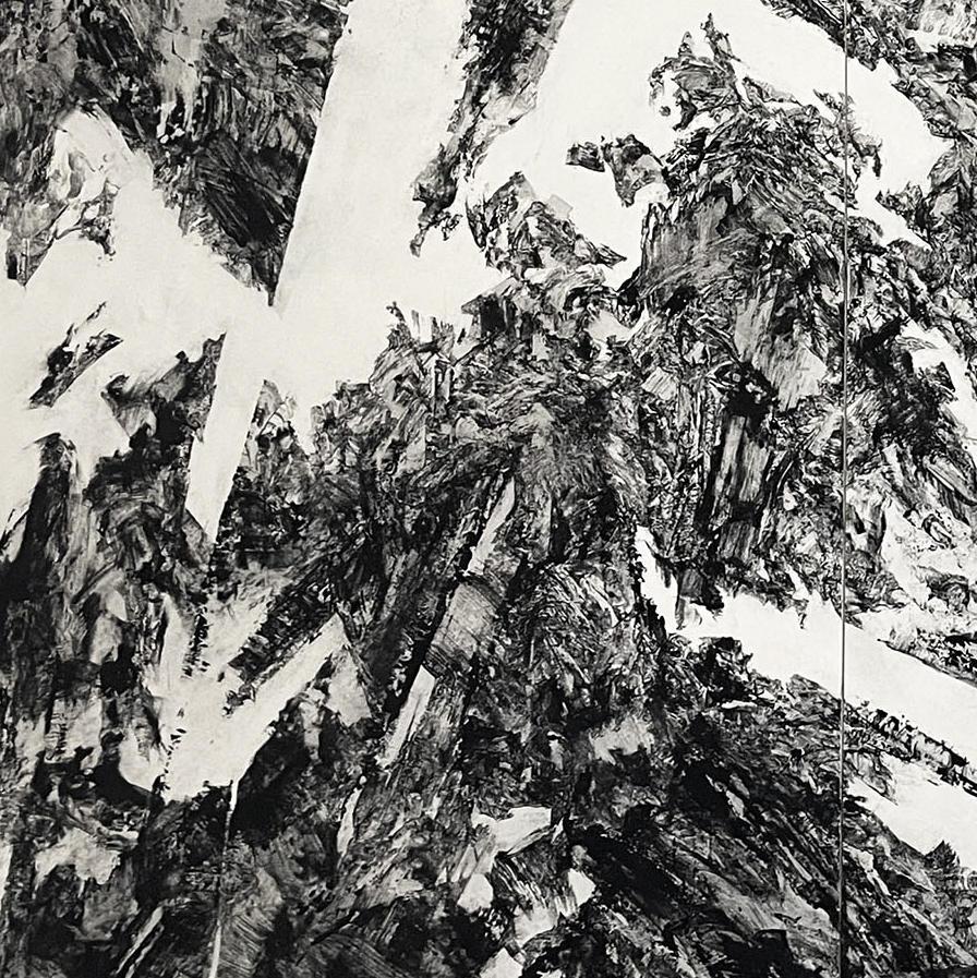 春原直人: Fragments from Scaling Mountain