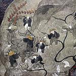 Solo exhibition of Nozomi Tanaka:  mono-okuri