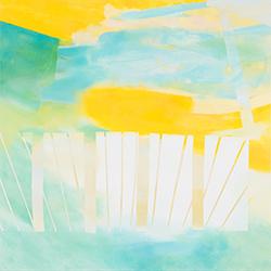 Solo exhibition of Aki Yamamoto:  jump