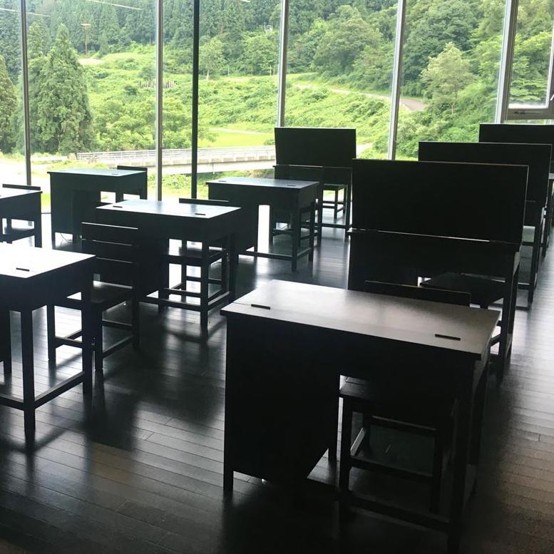 河口龍夫、2021年夏:《関係-黒板の教室》リニューアル