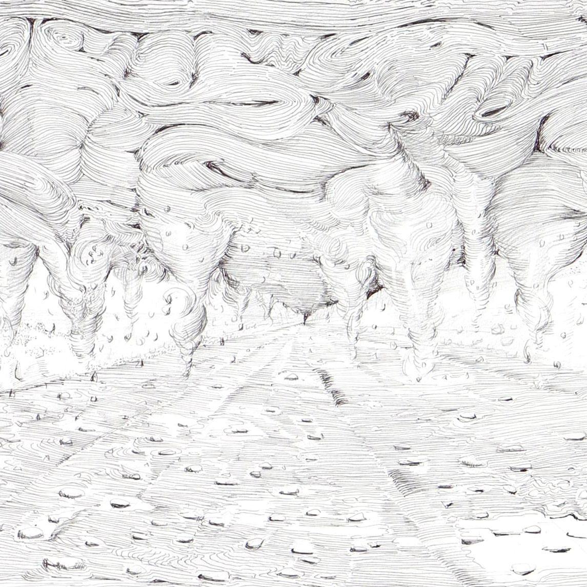 磯辺行久「ドローイングの可能性」@東京都現代美術館