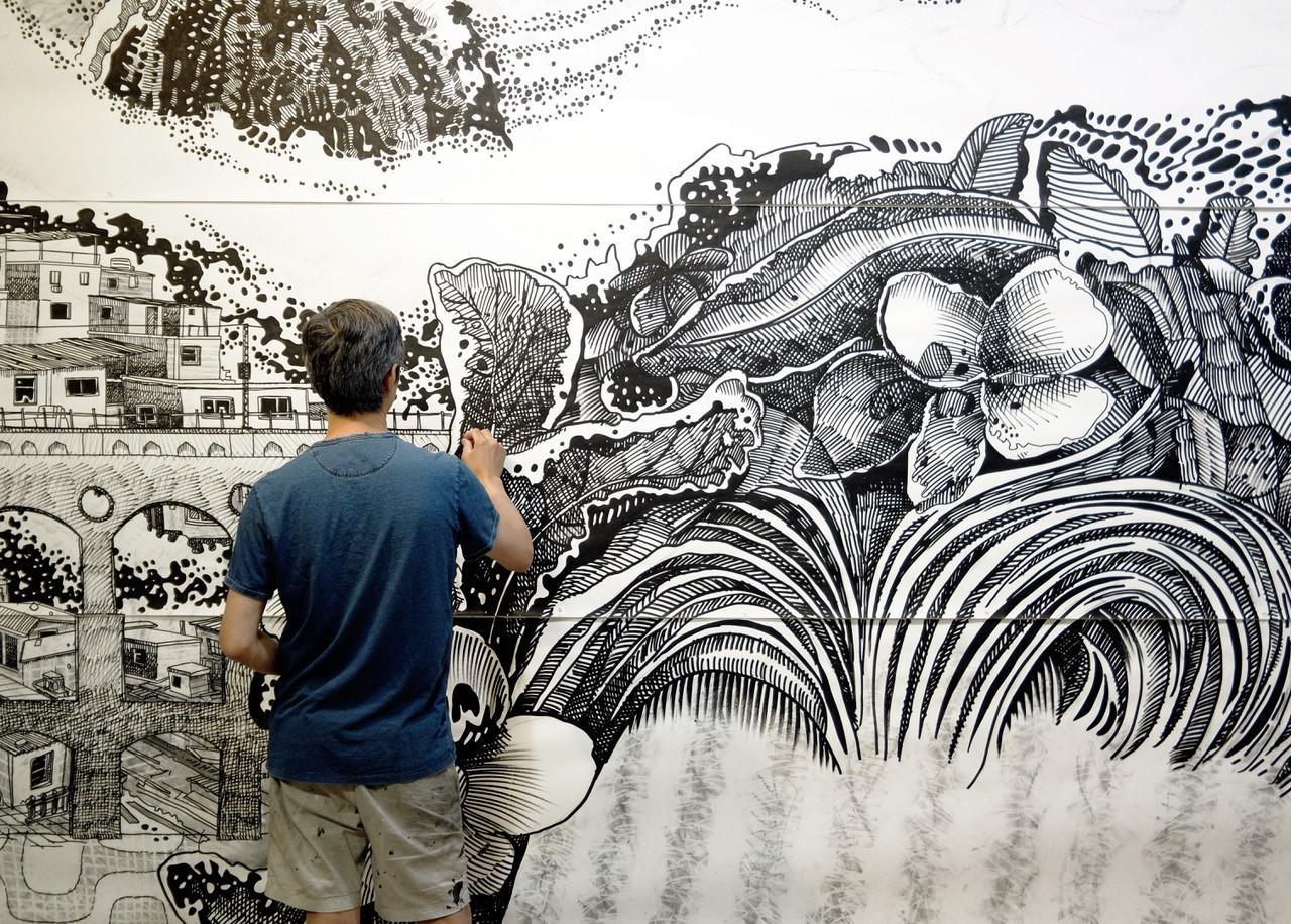 大岩オスカール:旅人生はつづく(東京都現代美術館での展示から