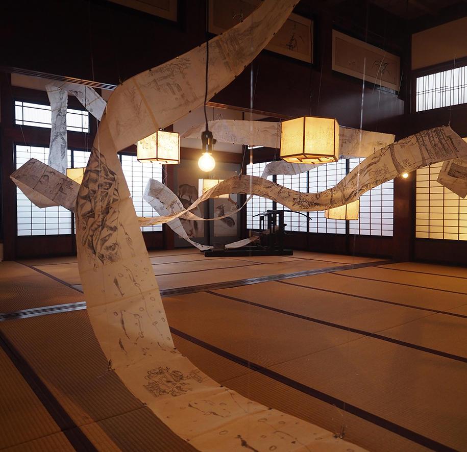 田中望、越後妻有の冬の芸術祭「SNOWART」に参加 @まつだい郷土資料館