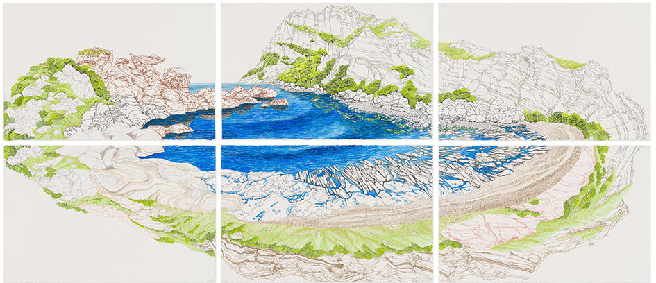 Kana Kou (Kana Yoshida)'s works are exhibited in Seogwipo Arts Center, Jeju Island, South Korea