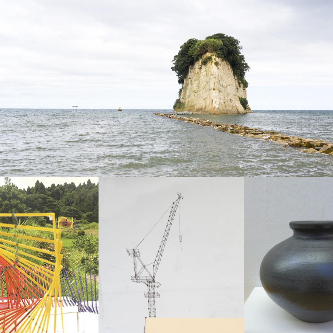 special exhibition of Oku-Noto Triennale @ Daikanyama Tsutaya Books