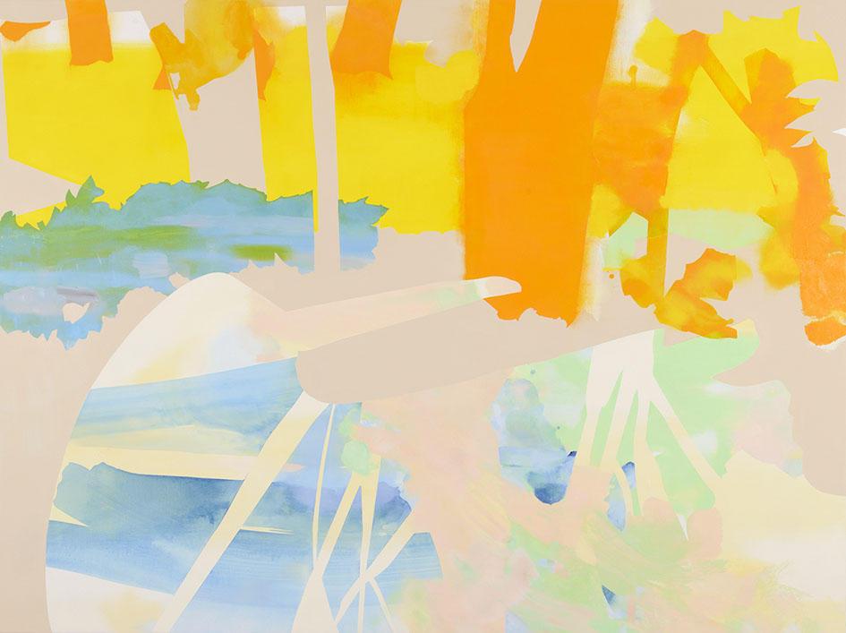 New works of Aki Yamamoto : Dawning in Spring