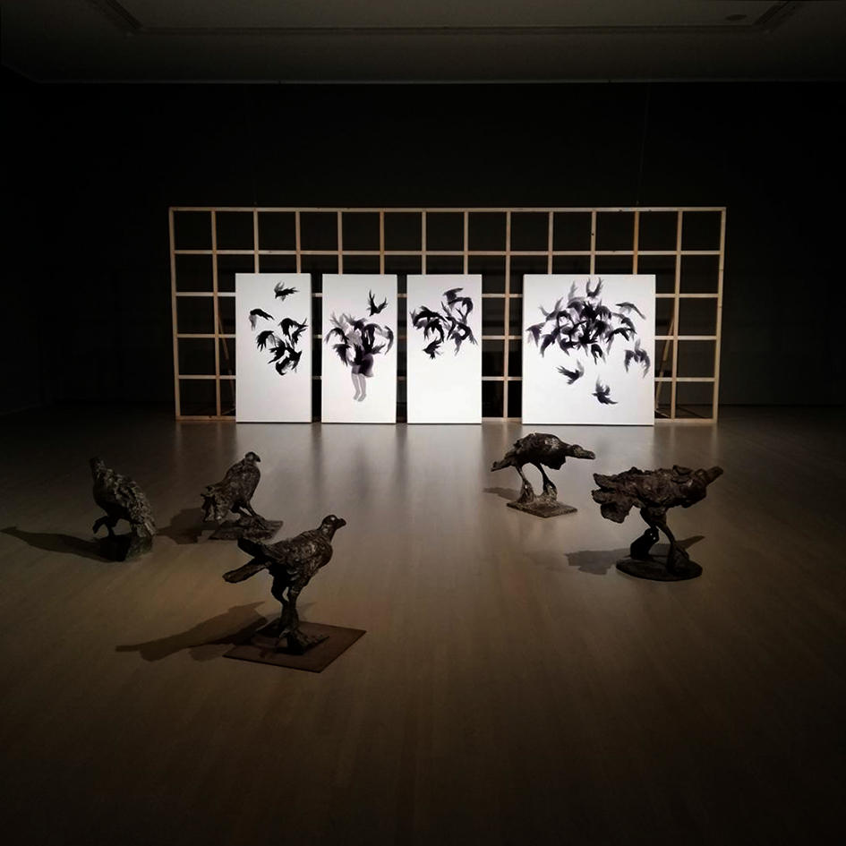 Michiko Nakatani @ Mie Prefecture Art Museum, Japan