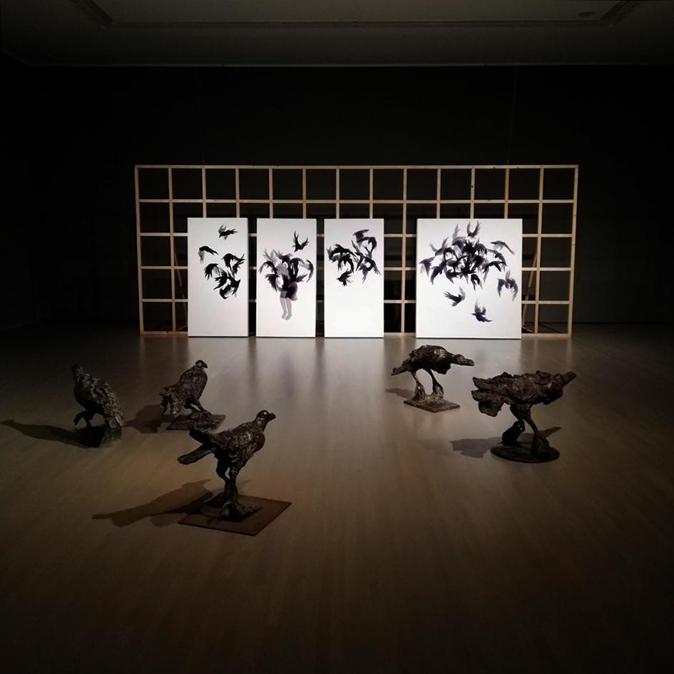 Michiko Nakatani @ Mie Prefecture Art Museum, Japan
