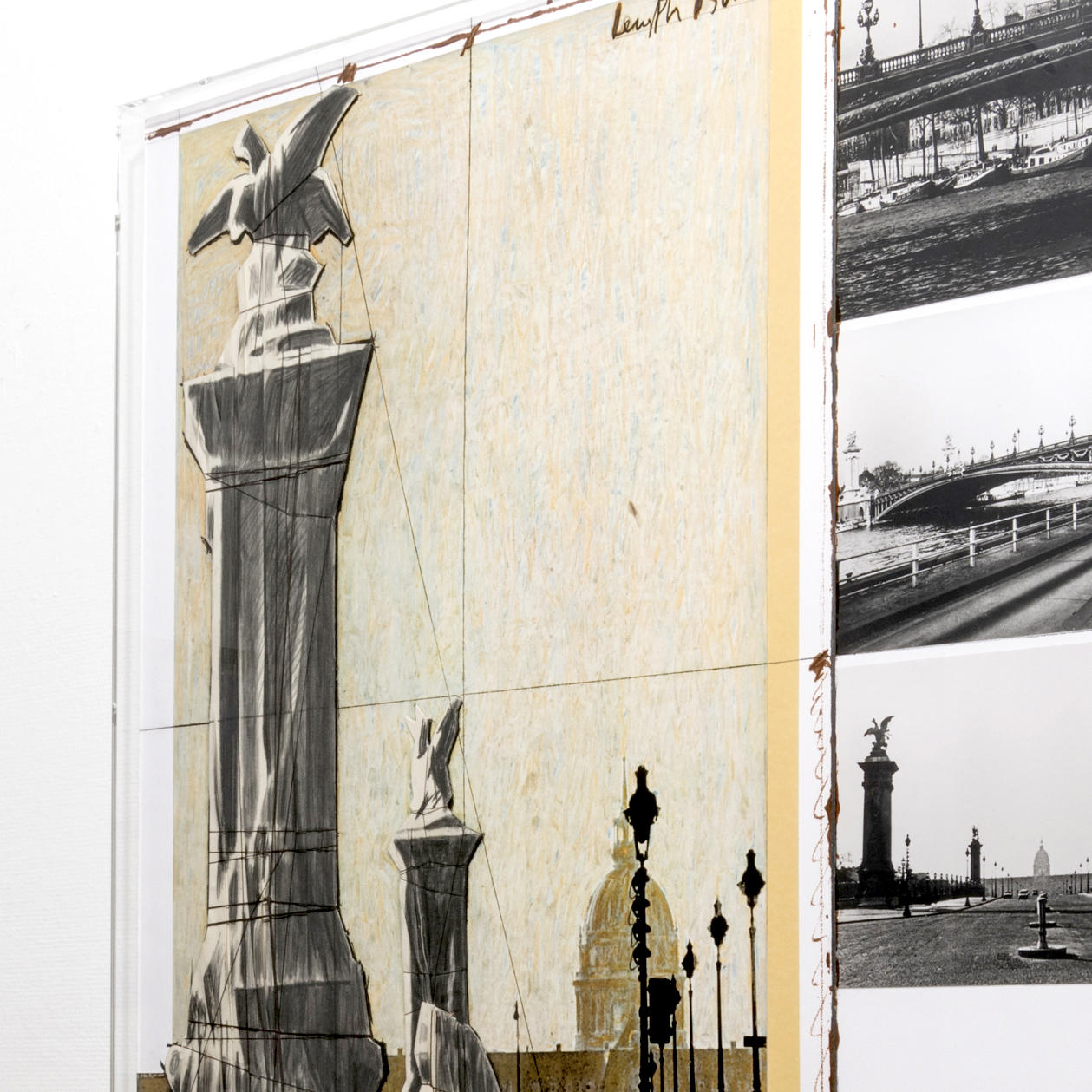 Legacy of Christo, works for realized and unrealized projects