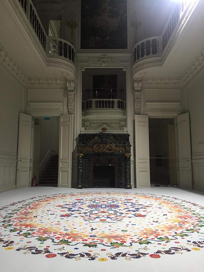 大巻伸嗣 :「深みへ‐日本の美意識を求めて‐」展 in フランス、パリ