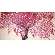船田玉樹「花の夕」